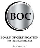 Board of Certification for Athletic Trainers Logo
