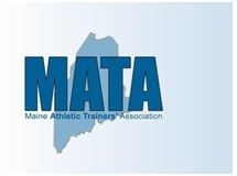 Maine Athletic Trainers Association Logo and Link to their website